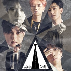 super junior play 8th album black suit ver cd ,booklet ,card