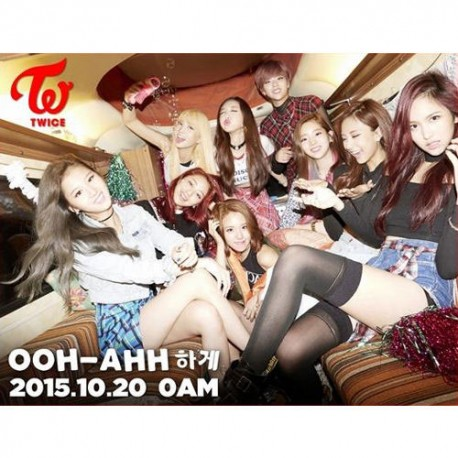 twice the story begins 1st mini album cd ,36p photo booklet ,card
