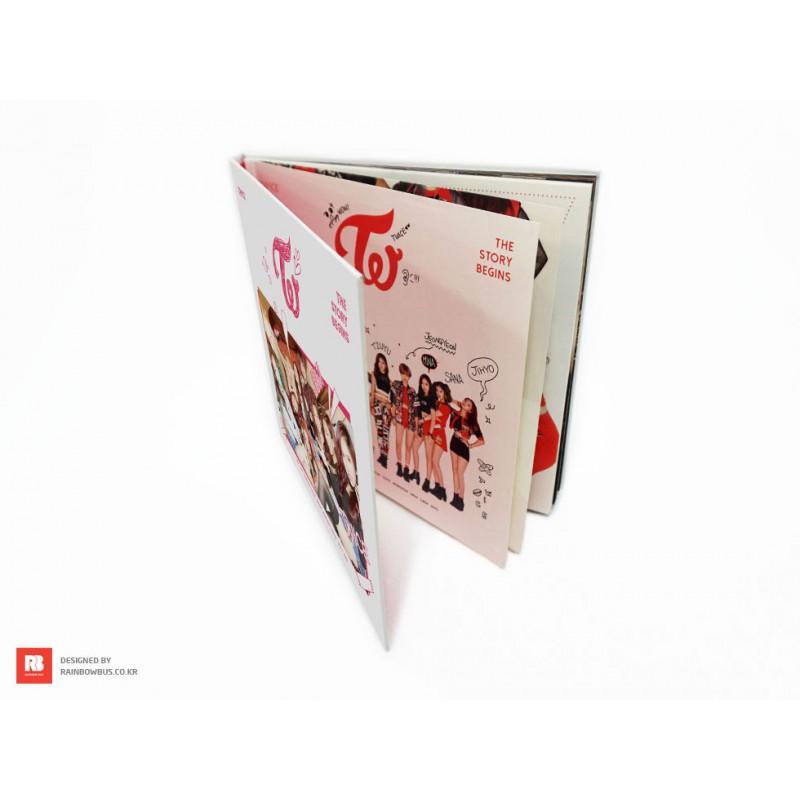 twice the story begins 1st mini album cd