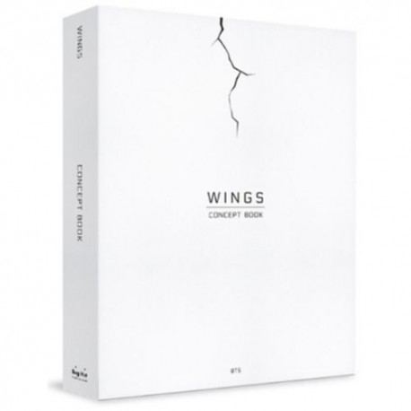 bts wings concept book 312p making photobook 2p photo frame paperlenticular