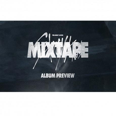 stray kids mix tape pre debut album cd booklet photo card