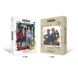 Mxm Match up 2 mini albumas atsitiktinis cd plakatas nuotraukų knygų kortelėje