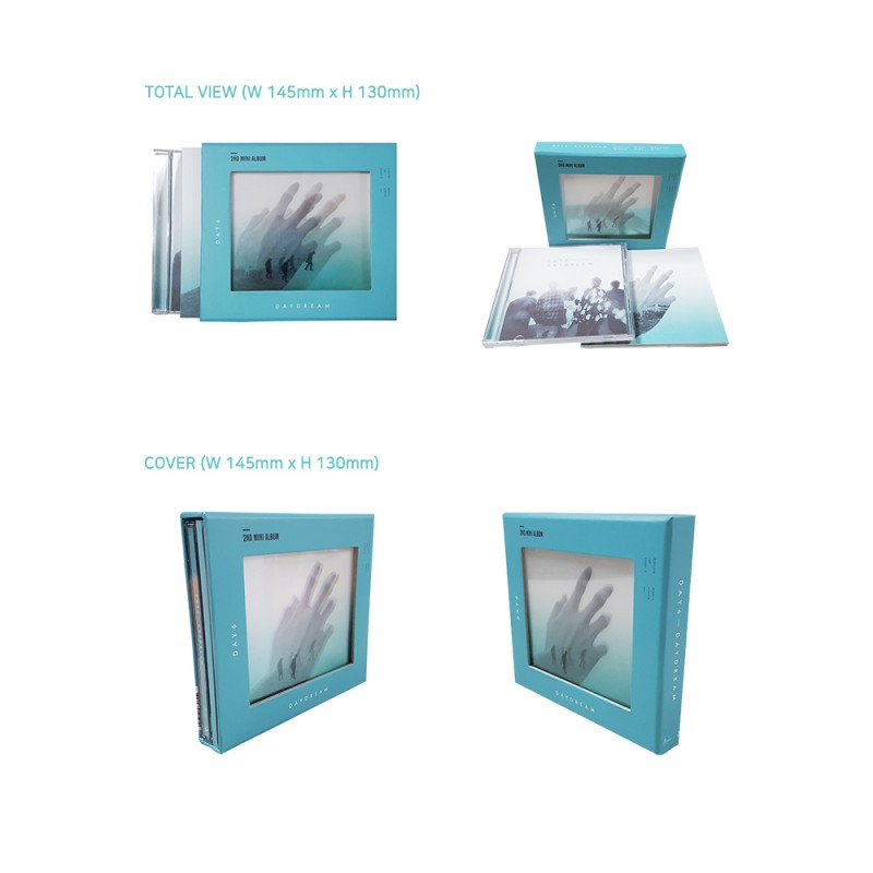 day6 day dream 2nd mini album cd