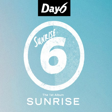 day6 sunrise 1st album cd